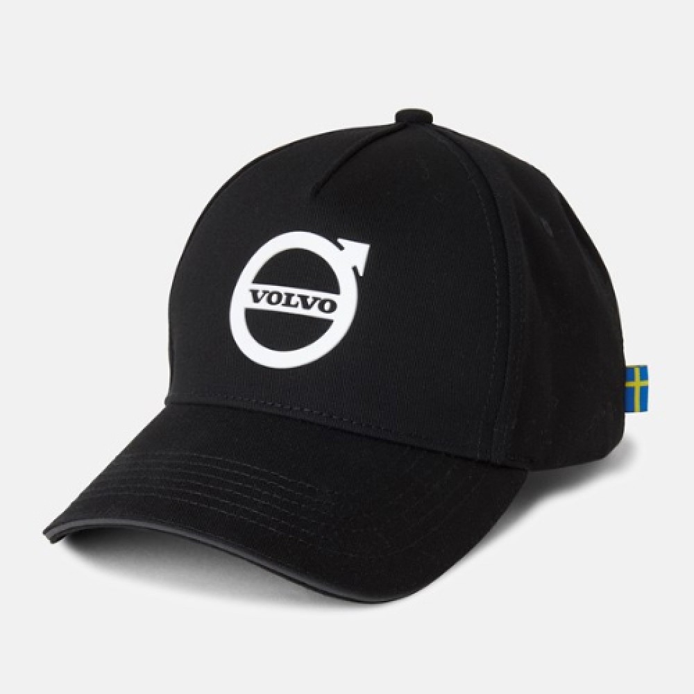 Volvo Iron Mark Curved Cap-Black