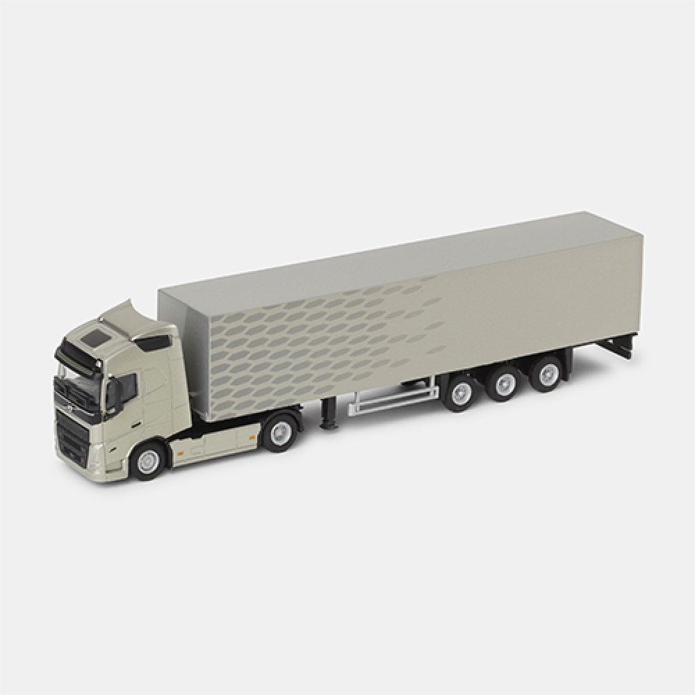 Volvo FH 4x2 Tractor with Box Trailer 1:87