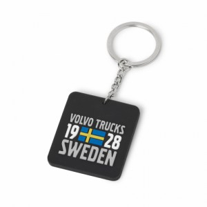 Volvo Trucks Heritage Rubber Key Ring