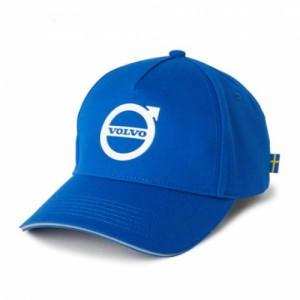 Volvo Iron Mark Curved Cap- Blue
